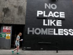 Domestic abuse is the most common reason for women to become homeless, a new report said (Brian Lawless/PA)