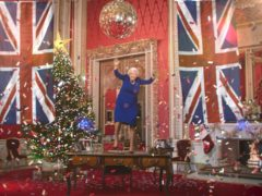 The digitally rendered Queen dances (Channel 4)