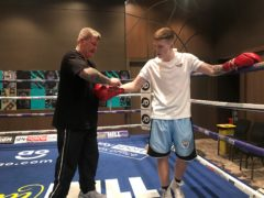 Ricky Hatton's son Campbell has signed a multi-fight deal with Matchroom (George Sessions/PA)