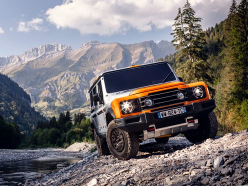 The new Grenadier 4×4 will be built in France instead of Wales, Ineos has confirmed. (Ineos / PA)