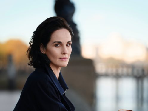 Michelle Dockery said she is looking forward to a return to live performing (Misan Harriman for Glenfiddich Grand Cru/PA)