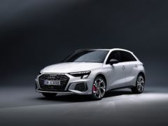 The A3 combines electric and petrol power