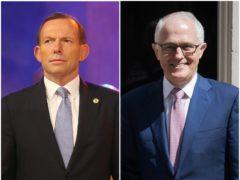 Tony Abbott and Malcolm Turnbull (Chris Jackson/Stefan Rousseau/PA)