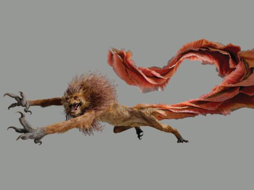 One of the objects on display in the Natural History Museum exhibition (Warner Bros/PA)