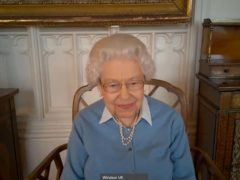 The Queen spoke with KPMG partner John McCalla-Leacy during the call (Royal Communications)