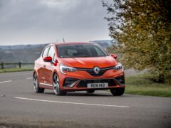 The Clio corners smartly and with little fuss