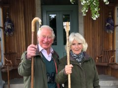 The Prince of Wales and Duchess of Cornwall have released an image to celebrate Christmas. Clarence House