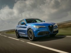 The Stevlio has proved a hit for Alfa Romeo