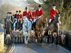 Fox hunts are trying to create a 'super exemption' to Covid-19 restrictions, MSPs were told (Ben Birchall/PA)