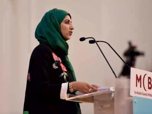 Zara Mohammed is the first female secretary general of the Muslim Council of Britain (Muslim Council of Britain)