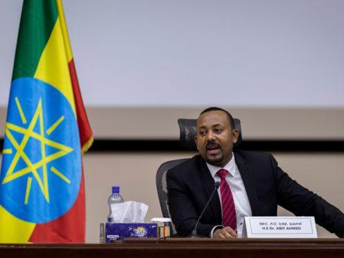 Ethiopia's Prime Minister Abiy Ahmed (Mulugeta Ayene/AP)