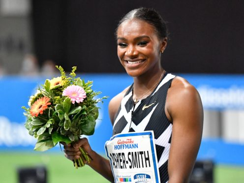 Dina Asher-Smith made it a win double (Martin Meissner/AP)