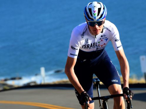 Chris Froome has spent the winter continuing his rehabilitation in California (Israel Start-Up Nation handout)