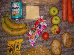 A food parcel (Roadside Mum/Twitter)