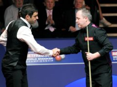 John Higgins booked his place in the semi-finals of the Masters semi-finals with a 6-3 win over Ronnie O'Sullivan (Nigel French/PA)