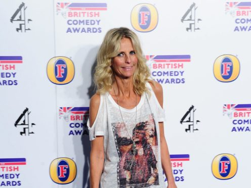 Ulrika Jonsson has defended Stacey Solomon after an online troll made a comment about her family life (Ian West/PA)