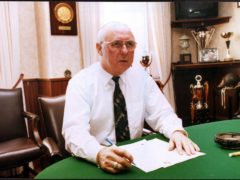 Dundee United will pay tribute to Jim McLean (PA)