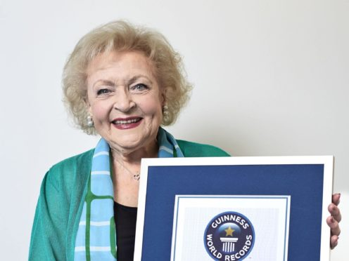 Betty White is perhaps best known for starring in The Golden Girls (Guinness World Records)