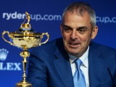 Paul McGinley led Europe at the 2014 Ryder Cup (Brian Lawless/PA)