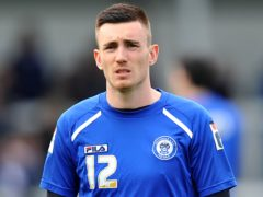 Matty Lund returns from suspension for Rochdale (Dave Howarth/PA)
