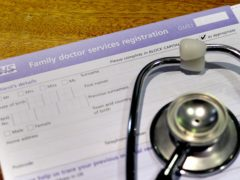Half of GPs have considered quitting due to the pandemic, a survey suggests (Anthony Devlin/PA)