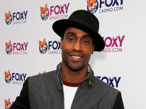 Simon Webbe and his wife Ayshen are expecting a baby (John Phillips/PA)