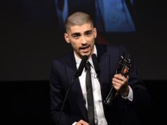 Zayn Malik shared his new single Vibez ahead of the release of album Nobody Is Listening (Doug Peters/PA)