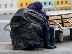Campaigners called for action to tackle the homelessness crisis (Jonathan Brady/PA)