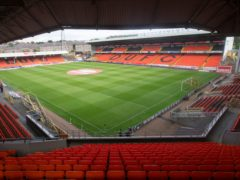 The Tannadice pitch was frozen (Jeff Holmes/PA)
