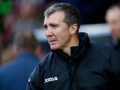 Jim Gannon has a near full complement of players to choose from (Paul Harding/PA)