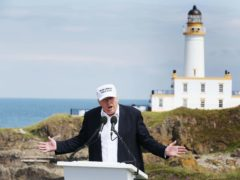 The Turnberry course was purchased by Donald Trump in 2014 (Jane Barlow/PA)