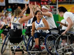 Great Britain's women finished fourth at the Rio Paralympics (Thomas Lovelock/OIS)