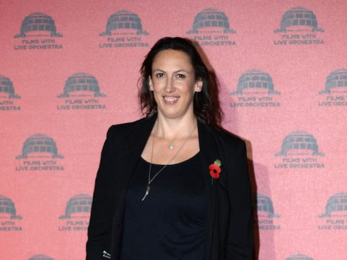 Miranda Hart wrote a book about her life with her dog Peggy (Stefan Rousseau/PA)