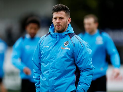 Boreham Wood boss Luke Garrard is targeting an FA Cup upset against Millwall (Paul Harding/PA)