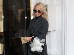 Pamela Anderson (Jonathan Brady/PA)