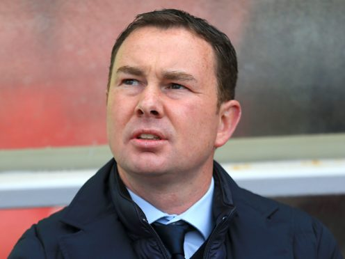Plymouth manager Derek Adams will be on the touchline against Colchester (Nigel French/PA)