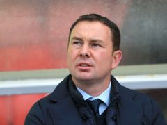 Derek Adams will draw on past cup giant killings when taking Morecambe to face Chelsea in Sunday's FA Cup third-round clash (Nigel French/PA)
