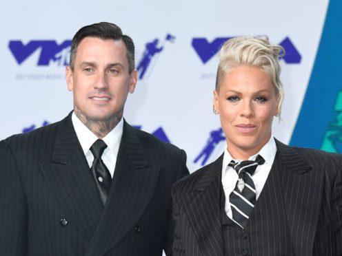 Pop star Pink celebrated 15 years of marriage with Carey Hart with a touching post on Instagram (PA)