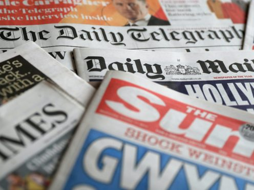 What the papers say – January 1 (PA)