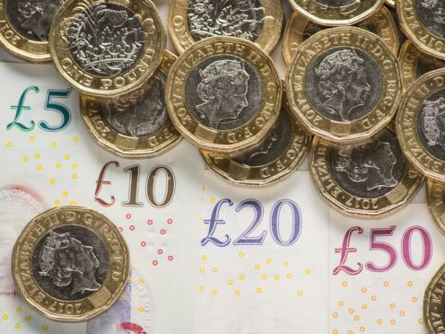 Official forecasts from the Office for Budget Responsibility predict borrowing could reach £393.5 billion by the end of the financial year in March (Dominic Lipinski/PA)