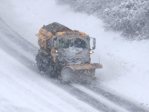 The Met Office has issued weather warnings for snow (Andrew Milligan/PA)