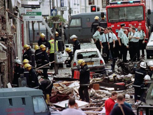 The Government has pledged to 'intensify' engagement with victims' groups during efforts to address the legacy of the Northern Ireland conflict (Paul McErlane/PA)