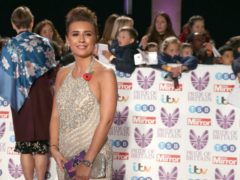Dani Dyer has shared a picture of her baby boy (Steve Parsons/PA)