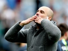 Pep Guardiola has enjoyed some outstanding moments in his managerial career (Nick Potts/PA)