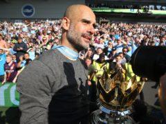 Manchester City manager Pep Guardiola celebrates his 50th birthday on Monday (Nick Potts/PA)