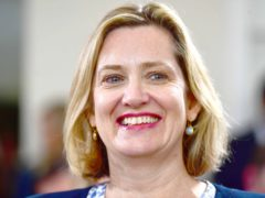 Former Cabinet minister Amber Rudd (Victoria Jones/PA)