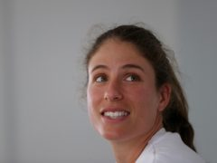 Johanna Konta has been doing hotel room workouts ahead of the Australian Open (David Davies/PA).