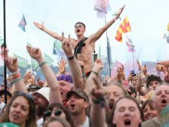 The crowd at Glastonbury (Yui Mok/PA)