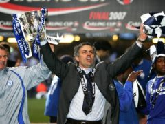 Jose Mourinho has won the League Cup on four occasions (Nick Potts/PA)