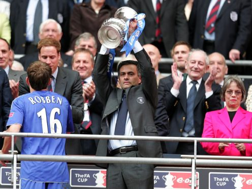 Jose Mourinho has secured a seventh domestic cup final in England (Martin Rickett/PA)
